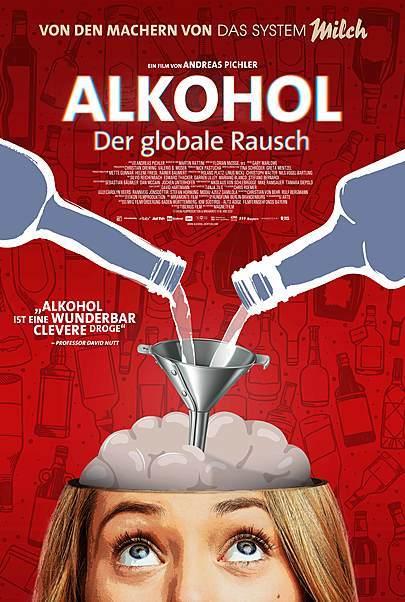 """Filmplakat für """"ALKOHOL - DER GLOBALE RAUSCH"""""""