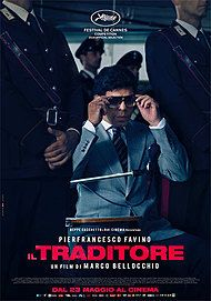 "Movie poster for ""THE TRAITOR"""