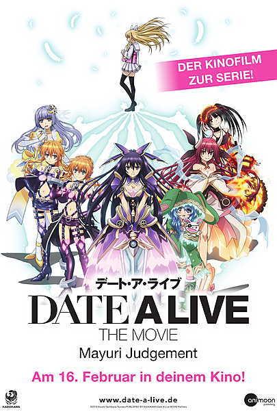 """Filmplakat für """"DATE A LIVE - THE MOVIE: MAYURI JUDGEMENT"""""""