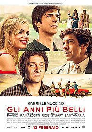 "Movie poster for ""GLI ANNI PIÙ BELLI"""