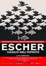 """Movie poster for """"ESCHER: HET ONEINDIGE ZOEKEN"""""""