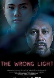 "Movie poster for ""THE WRONG LIGHT """