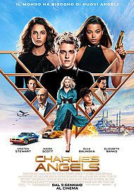 "Movie poster for ""CHARLIE'S ANGELS"""