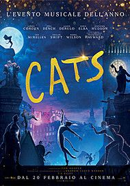 "Movie poster for ""CATS"""