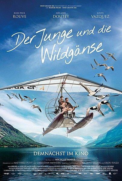 """Filmplakat für """"DER JUNGE UND DIE WILDGÄNSE"""""""