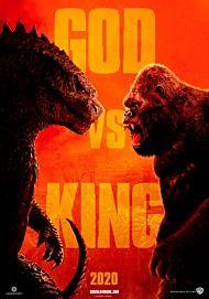 "Movie poster for ""GODZILLA VS. KONG"""