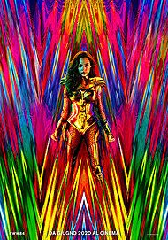 "Movie poster for ""WONDER WOMAN 1984"""