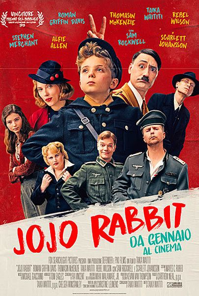 """Movie poster for """"JOJO RABBIT"""""""