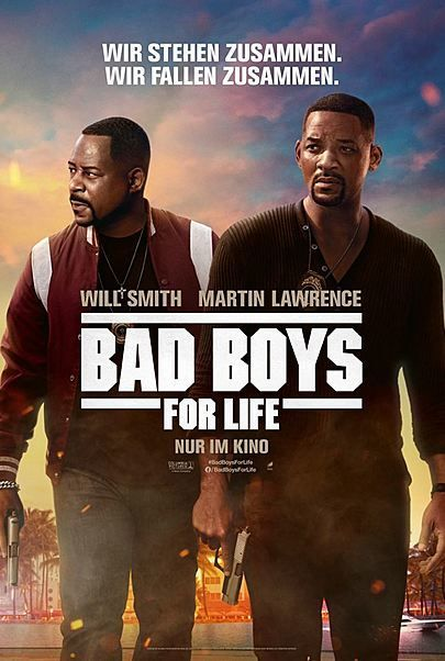 "Filmplakat für ""BAD BOYS FOR LIFE"""
