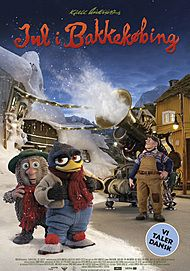 "Movie poster for ""JUL I BAKKEKØBING"""