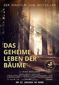 """Filmplakat für """"DAS GEHEIME LEBEN DER BÄUME"""""""