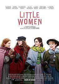 "Movie poster for ""LITTLE WOMEN"""