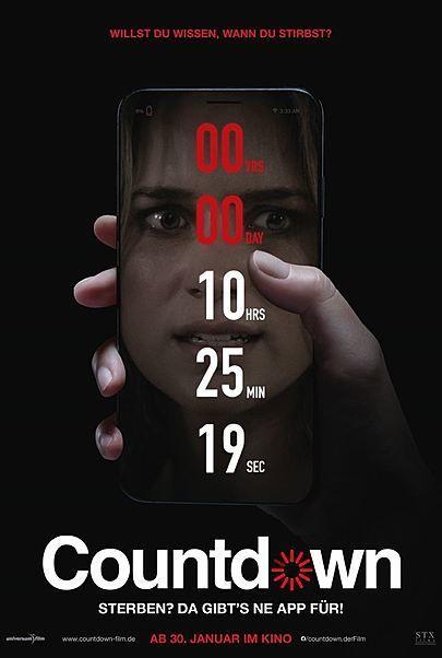 """Filmplakat für """"COUNTDOWN"""""""