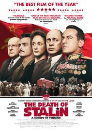 "Movie poster for ""THE DEATH OF STALIN"""