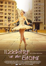 "Filmplakat für ""LOOKING AT THE  STARS"""