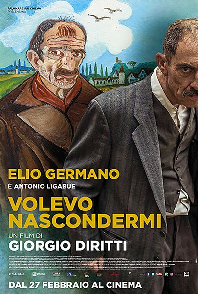 "Movie poster for ""VOLEVO NASCONDERMI"""