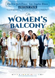 "Movie poster for ""THE WOMEN'S BALCONY"""