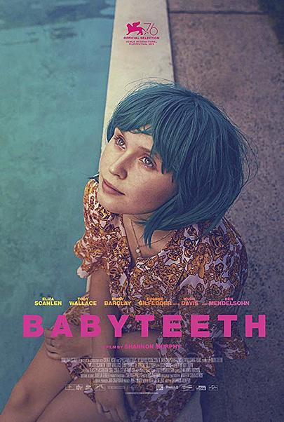 "Movie poster for ""BABYTEETH"""