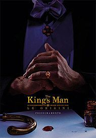 "Movie poster for ""THE KING'S MAN: LE ORIGINI"""