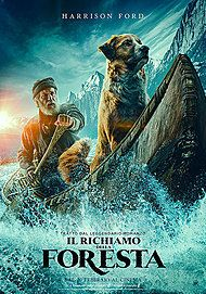 "Movie poster for ""IL RICHIAMO DELLA FORESTA"""