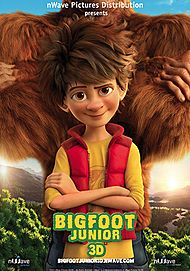 "Movie poster for ""BIGFOOT JUNIOR 3D"""