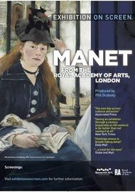 "Movie poster for ""MANET - From the Royal Academy of Arts London"""