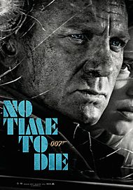 "Movie poster for ""NO TIME TO DIE"""