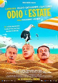 "Movie poster for ""ODIO L'ESTATE"""