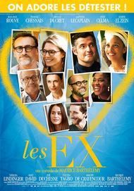 "Movie poster for ""LES EX"""