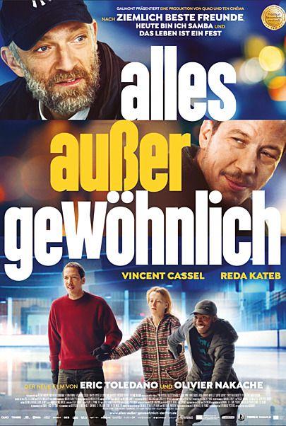"""Filmplakat für """"Alles außer gewöhnlich - Filmstart in Österreich """""""