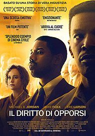 """Movie poster for """"IL DIRITTO DI OPPORSI"""""""