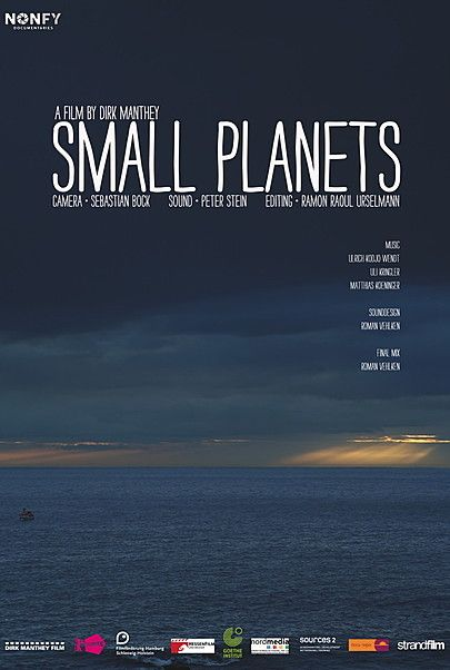 """Filmplakat für """"SMALL PLANETS"""""""