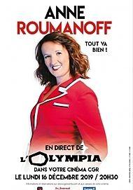 """Movie poster for """"ANNE ROUMANOFF DANS TOUT VA BIEN"""""""