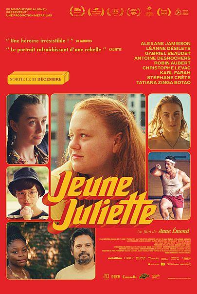 "Movie poster for ""JEUNE JULIETTE"""