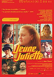 "Movie poster for ""JEUNE JULIETTE"""