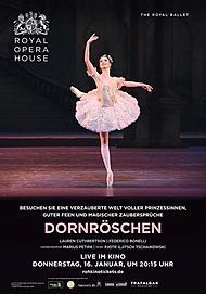 """Movie poster for """"THE SLEEPING BEAUTY - ROYAL OPERA HOUSE 2019/20"""""""