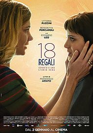 "Movie poster for ""18 REGALI"""