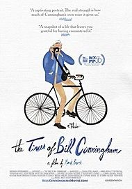 "Movie poster for ""THE TIMES OF BILL CUNNINGHAM"""