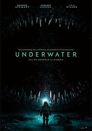 "Movie poster for ""UNDERWATER"""