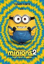 """Movie poster for """"MINIONS 2 COME GRU DIVENTA CATTIVISSIMO"""""""