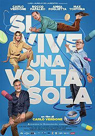 "Movie poster for ""SI VIVE UNA VOLTA SOLA"""