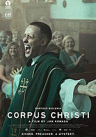 """Filmplakat für """"CORPUS CHRISTI"""""""