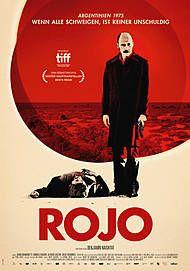 "Movie poster for ""ROJO"""