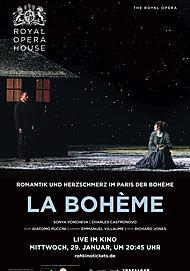 "Movie poster for ""LA BOHEME - ROYAL OPERA HOUSE 2019/20"""
