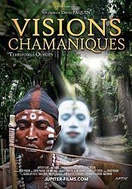 "Movie poster for ""VISIONS CHAMANIQUES: TERRITOIRES OUBLIÉS"""