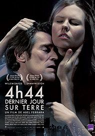 "Movie poster for ""4:44 LAST DAY ON EARTH"""
