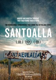 "Movie poster for ""SANTOALLA"""