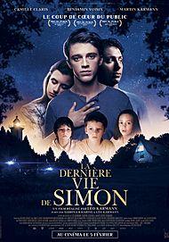 "Movie poster for ""LA DERNIERE VIE DE SIMON"""