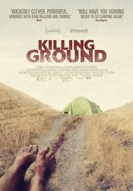 "Movie poster for ""KILLING GROUND"""