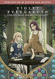 "Movie poster for ""VIOLET EVERGARDEN: ETERNITY AND THE AUTO MEMORIES DOLL"""
